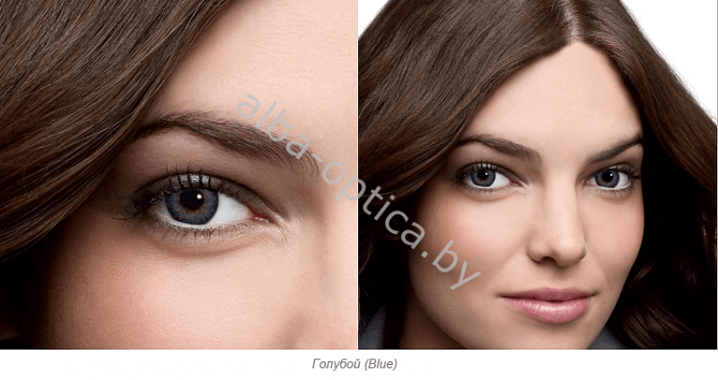 FRESHLOOK ColorBlends Голубой (Blue)